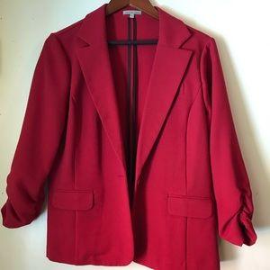 Charlotte Russe XL Red Blazer